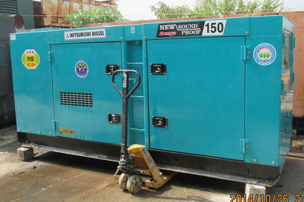 Cho thuê máy phát điện 150Kva