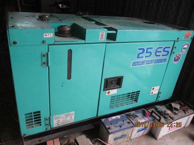 Cho thuê máy phát điện 25Kva